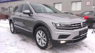 2018 Volkswagen Tiguan 2.0 TDI DSG 4Motion Highline. Start Up, Engine, and In Depth Tour.