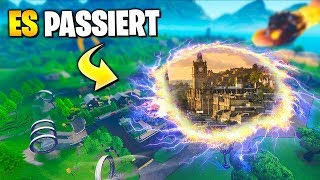 IT PASSES NOW 🔥 New Mega Mall, New Skins, Emotes and Leaks | Fortnite Season 10 German
