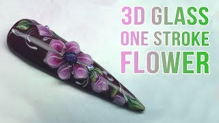 3D One Stroke Flower