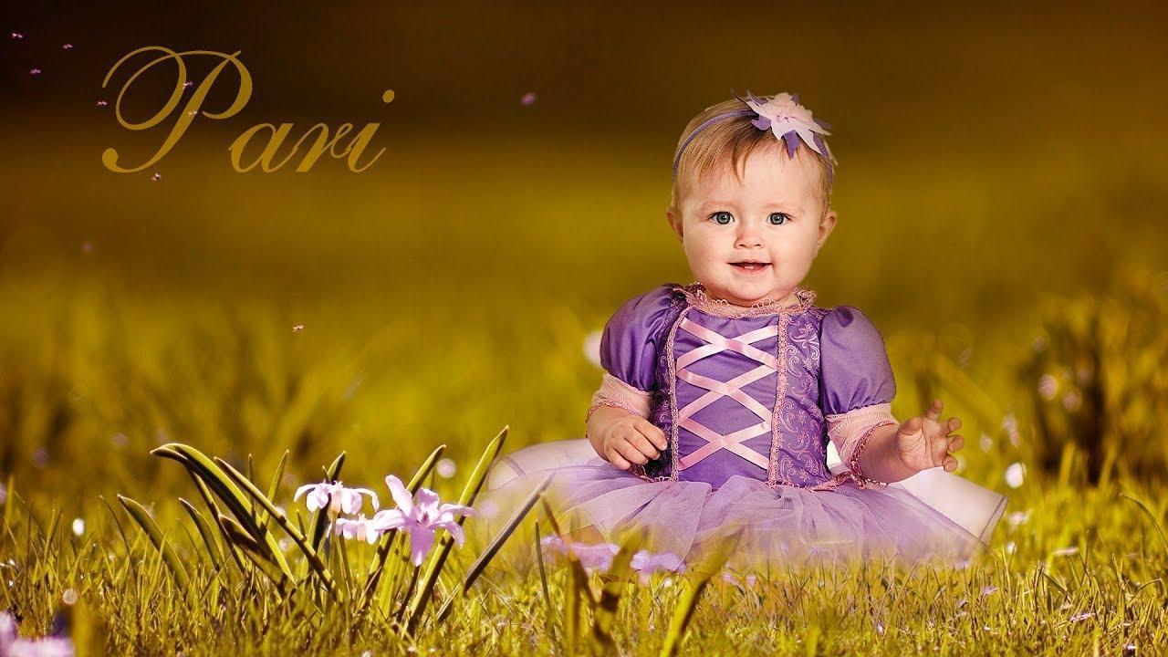 Edit Child Photo With Photoshop Change Photo Background Photoshop Tutorial Baby Photo Editing Youtube