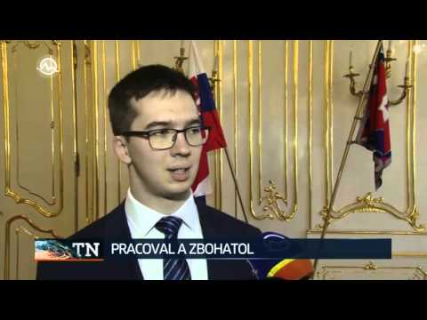 Najmladší slovenský milionár