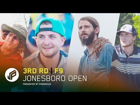 2017 Jonesboro Open | Round 3, Front 9 | Conrad, Dickerson, Owens, Bitney