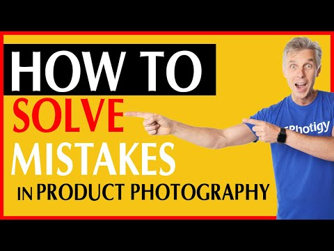 3 worst mistakes to avoid in PRODUCT PHOTOGRAPHY. Tips and Tricks – Part 3