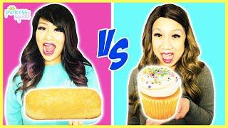 GIANT VS TINY FOOD CHALLENGE!