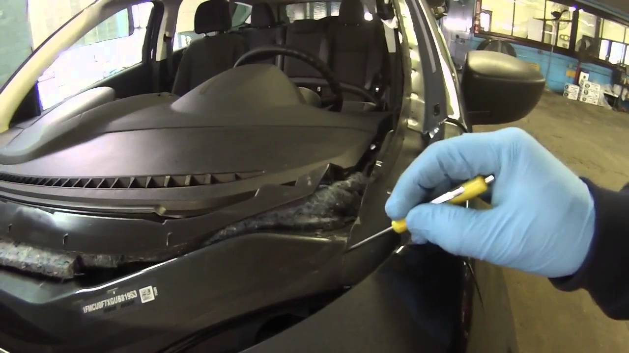 2016 Ford Escape Windshield Leak Youtube