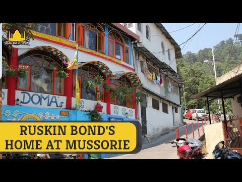 Ruskin Bond's House in Mussoorie | Indian Writer Ruskin Bond | Heritage Of  India