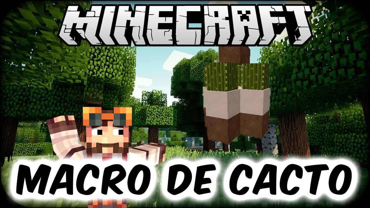 Minecraft-Macro De Cacto Serv.beta 1.7.2