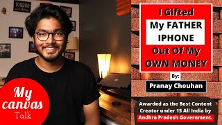 Don't WISH for it, WORK for it || Pranay Chouhan || Tech Theory || My Canvas Talk