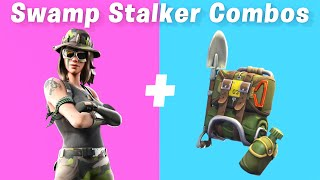 7 Best Swamp Stalker Skin - back bling combos in Fortnite