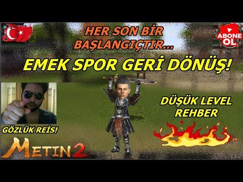 EMEK SPOR GERİ DÖNDÜ!! (YAYINCILARA DİSS!!) 0 DAN BAŞLANGIÇ! Metin2 TR TURKEY2 Part #1 Lets Play