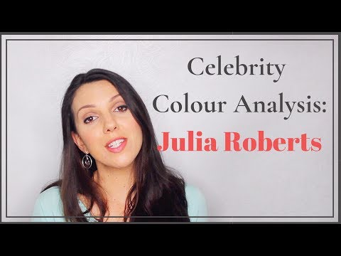 Celebrity Colour Analysis