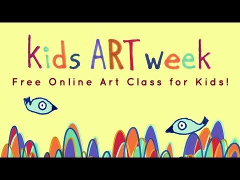 FREE Kids Art Week Online Class