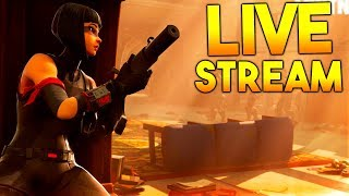 LIVESTREAM #494 FORTNITE SOLOS & DUOS ! LETS WIN :D #GIVEAWAY !