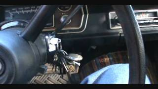 35 degree Plymouth Valiant cold start