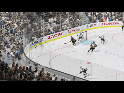 NHL 18 , Stanley Cup playoffs, L.A. Kings at Vegas, Game #1,  PS4