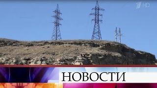 Ураган исход лавин нарушили энергоснабжение Южной Осетии.