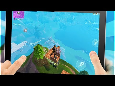 Fortnite Mobile - NOOB BUILDER SPAM - Worst Builder In The Game...