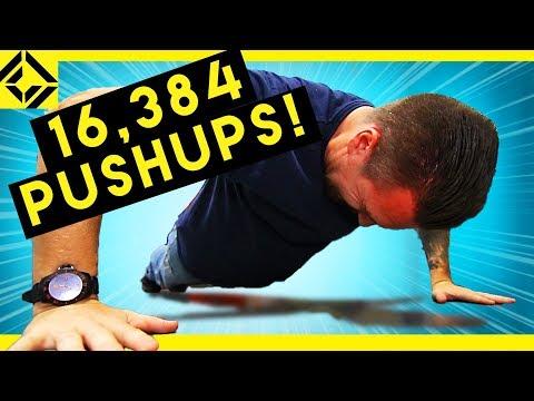 Man Vs 16,384 Push Ups
