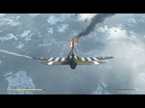 Call of Duty: WWII -- Battle of the Bulge ground and air combat