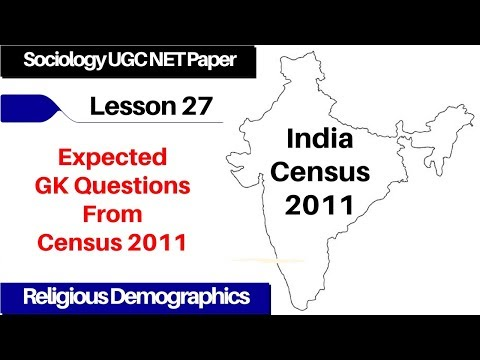 Lesson 27 India Census 2011 | Religious Demographics | Expected GK Questions From Census 2011