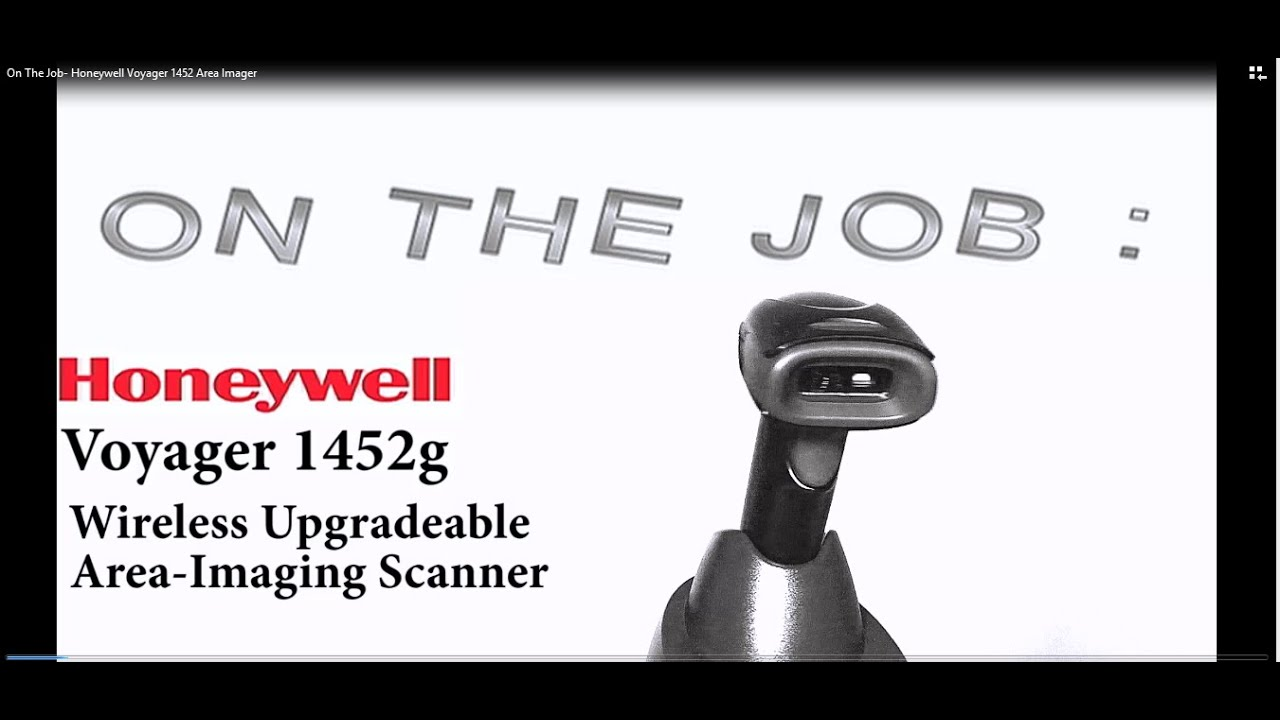 On The Job Honeywell Voyager 1452 Area Imager