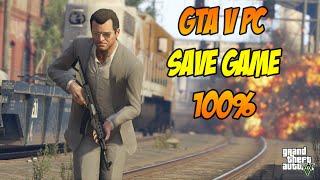 GTA V PC Como instalar save 100% completo