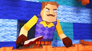 Minecraft - HELLO NEIGHBOR - SECRET 3RD FLOOR!