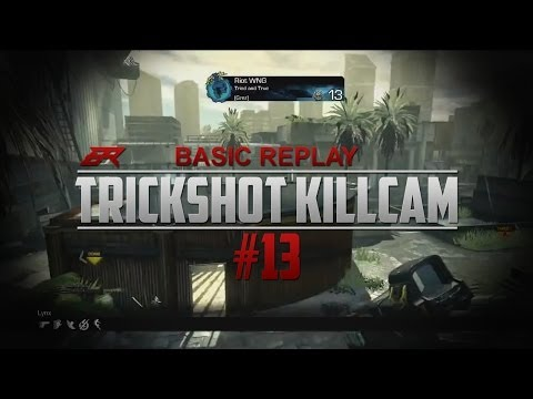 Basic Replay | Trickshot Killcam #13 | COD GHOSTиз YouTube · Длительность: 1 мин16 с