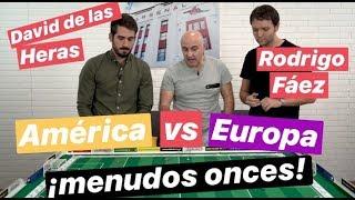 Europa contra America, onces y favorito. Y no ha sido fácil. #MundoMaldini