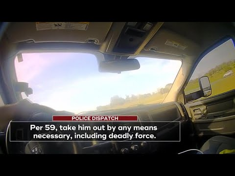 "Sheriff caught on body camera saying ""take him out"""