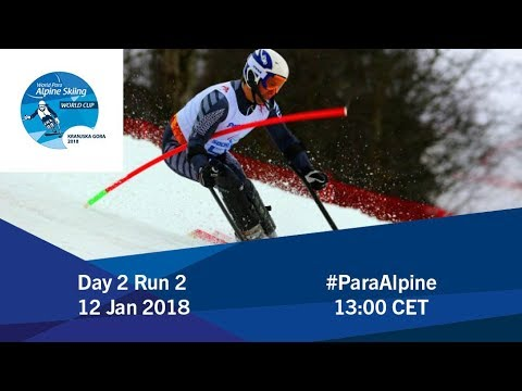 2018 World Para Alpine Skiing World Cup  Kranjska Gora  Day 2 Run 2