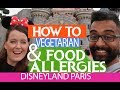 Going to Disneyland Paris With Special Dietary Needs | Gluten Vegetarian Dairy Nuts Fish Allergy