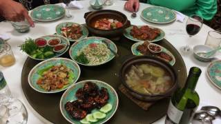 Dinner at Nyonya Restaurant and Visit to Goat Farm, Penang, Malaysia