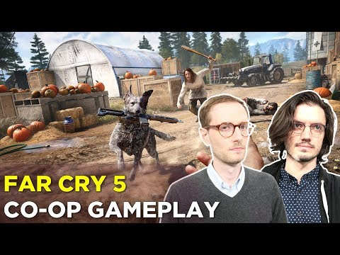 FAR CRY 5 — Co-op Gameplay with Russ and Pat