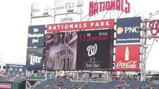 Washington Nationals 2015 Starting Lineup (vs. New York Mets)