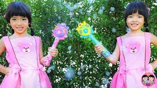หนูยิ้มหนูแย้ม   คฑาวิเศษพ่นฟอง Bubble