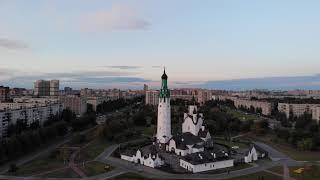 DJI - Mavic Air, Парк строителей, Веселый поселок, СПб (первые попытки)
