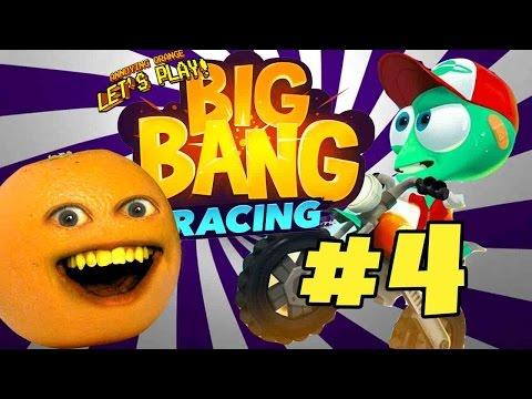 Annoying Orange Plays - Big Bang Racing #4 |