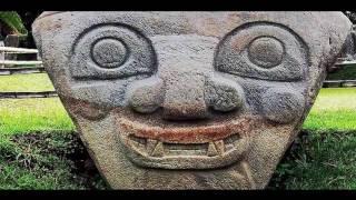 Загадочные статуи неизвестной цивилизации. Колумбия