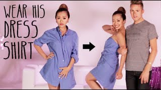 Wear His Dress Shirt Tutorial thumbnail