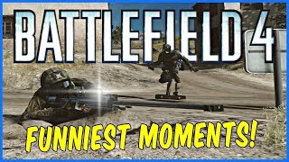 Battlefield 4 HOW ARE YOU NOOBS  (BF4 TROLLING & FUNNIEST MOMENTS 2018)