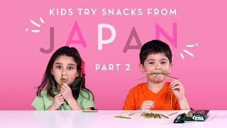 Baixar Kids Try Snacks from Japan (Part 2) | Kids Try | HiHo Kids