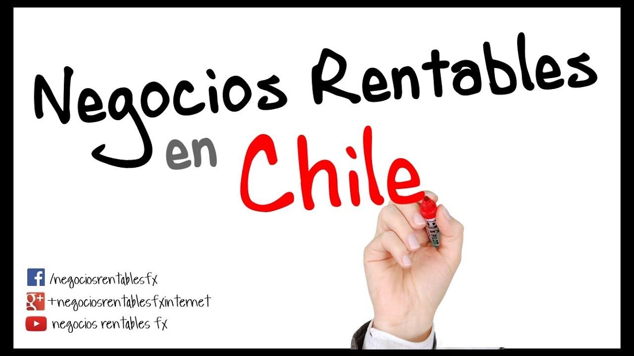 Negocios Rentables en Chile   Pymes, Dinero e Ideas   YouTube