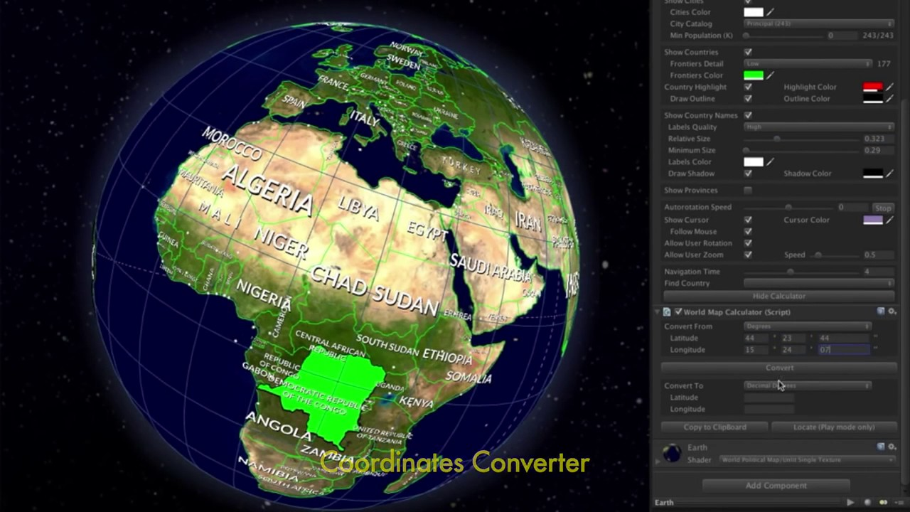 Unity Asset Store Pack - World Political Map Globe (Download link below)