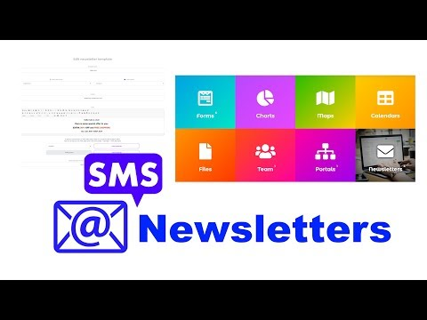 How to create and schedule E-mail and SMS Newsletters