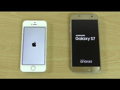 IPHONE SE SAMSUNG S7 VERGLEICH