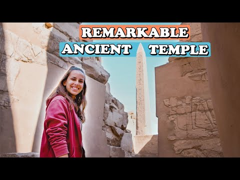 Exploring the Largest Temple Complex in Egypt - KARNAK