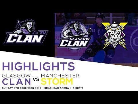 Glasgow Clan vs Manchester Storm 9/12/18