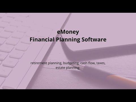 eMoney Financial Planning Software