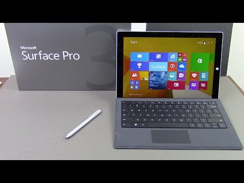 Microsoft Surface Pro 3 Unboxing & Firstlook